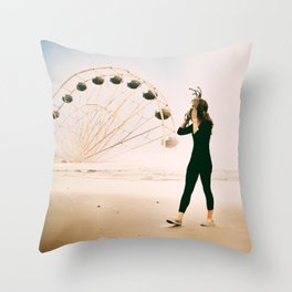 Your Circus Throw Pillow
