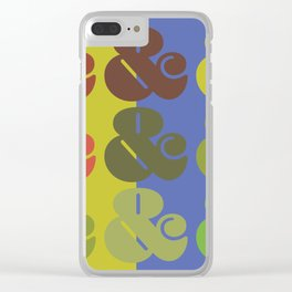Ampersand & Clear iPhone Case