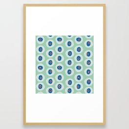 Evil Eye Charm - Hemlock  Framed Art Print