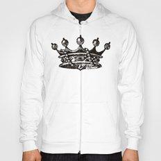Royal Crown | Black and White Hoody