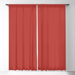 PANTONE 18-1550 Aurora Red Blackout Curtain