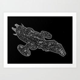 dark serenity Art Print
