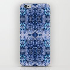 Frozen floral, nature, woodland, hippie, mandala, psychedelic iPhone & iPod Skin