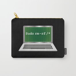 Sudo rm | Linux Coding Terminal Carry-All Pouch