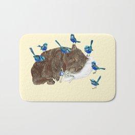 Wrens Wombat sleep Bath Mat