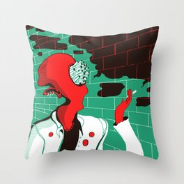 Smoker Throw Pillow