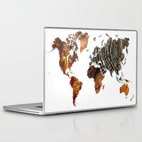 tree rings Laptop & iPad Skins featuring Tree Rings  by VRose