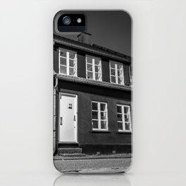 Charming houses, Aarhus iPhone Case