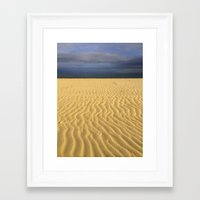sand Framed Art Prints featuring Sand by MyLove4Art