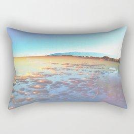 Watery Clouds Rectangular Pillow