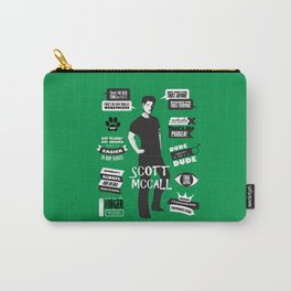 Scott Mccall Teen Wolf Quotes Carry-All Pouch