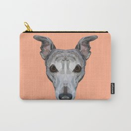 Whippet // Peach Carry-All Pouch