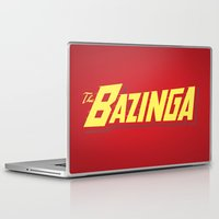 bazinga Laptop & iPad Skins featuring The Bazinga by thom2maro