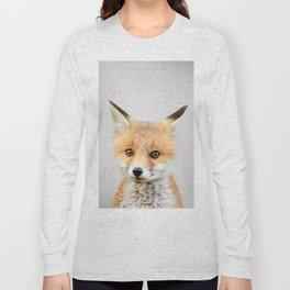 Baby Fox - Colorful Long Sleeve T-shirt