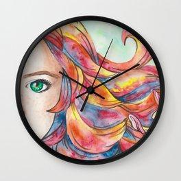 Summer's Child Wall Clock