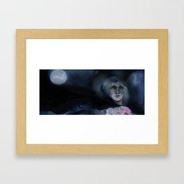 Nighttime Wanderer Framed Art Print