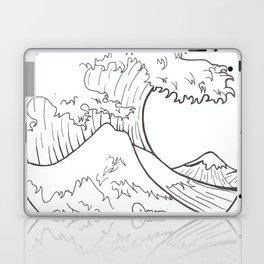 The wave of Kanagawa Laptop & iPad Skin