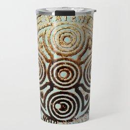 bronze relic, london, circa 2015 Travel Mug
