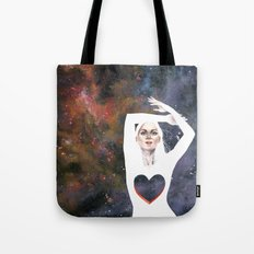 Love is infinite as the Cosmos Tote Bag