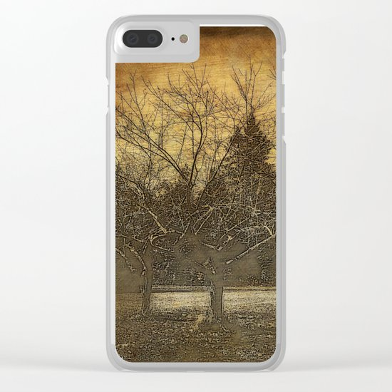 Halloween | The Three Sisters | 3 Haunting Trees | Nadia Bonello Clear iPhone Case