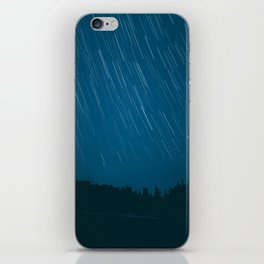 startrails iPhone Skin