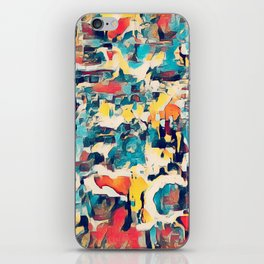 All oVER the PLACE iPhone Skin