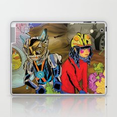 Living In a World of Monsters Laptop & iPad Skin
