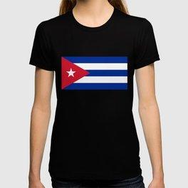 National flag of Cuba - Authentic HQ version T-shirt