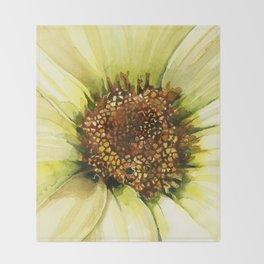 Daisy Disc Florets Throw Blanket