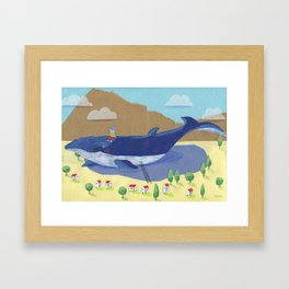 Change of perspective Framed Art Print