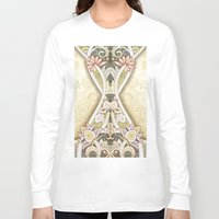 vintage floral Long Sleeve T-shirts featuring Vintage Floral by Robin Curtiss