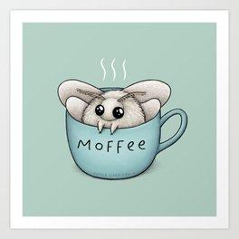 Moffee Art Print