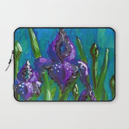 Iris by Mary Bottom Laptop Sleeve