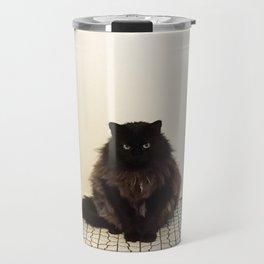 A Lone Cat  Travel Mug
