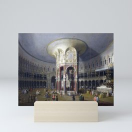 Canaletto London Interior of the Rotunda at Ranelagh Mini Art Print