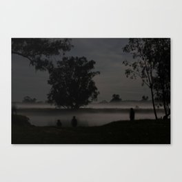 Fog on a Calm Spring Night Canvas Print