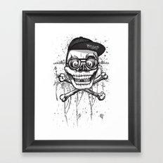 City of despair and good fortune Framed Art Print