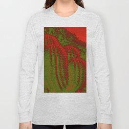 Cacti Abstract I Long Sleeve T-shirt