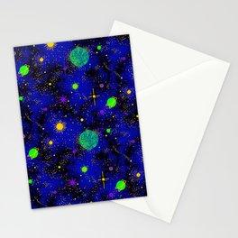 Wrinkle Planet Pattern Stationery Cards