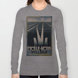 Vintage poster - Etoile du Nord Long Sleeve T-shirt