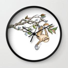 Slow Tea Wall Clock