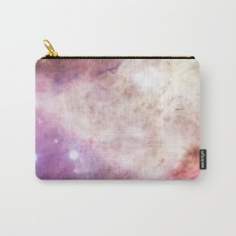 Trendy girly pink elegant nebula cosmology galaxy Carry-All Pouch