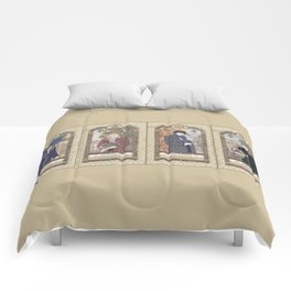 Sherlock Victorian Language of Flowers Four Seasons Comforters