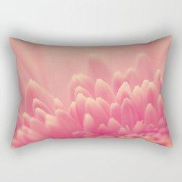 Pink Gerbera Daisy Rectangular Pillow