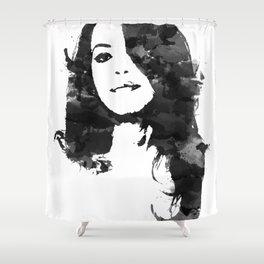 Baby Girl Shower Curtain