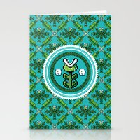 8bit Stationery Cards featuring 8bit Deco by Bubblegun
