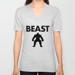 Beast Unisex V-Neck