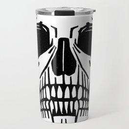 Skull by Julie de Graag Travel Mug