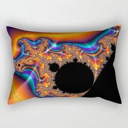 Coastal Sunset - Fractal Art Rectangular Pillow
