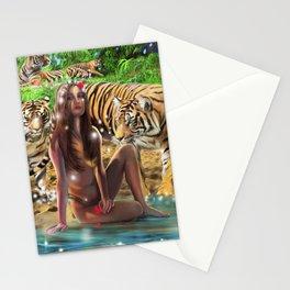 Tiger Beach Stationery Cards